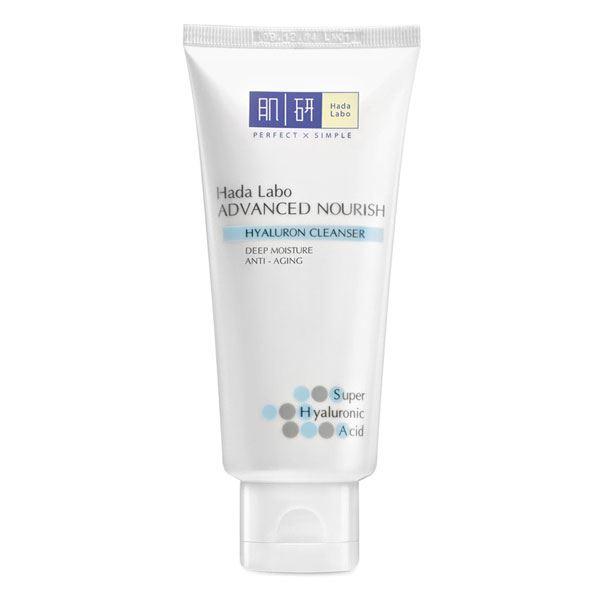 Sữa rửa mặt dưỡng ẩm Hada Labo ADVANCED NOURISH Hyaluron Cleanser có công dụng làm sạch, dưỡng ẩm cho da.