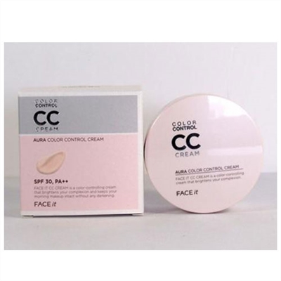 Kem Nền CC Cream Face It Aura Color Control Cream