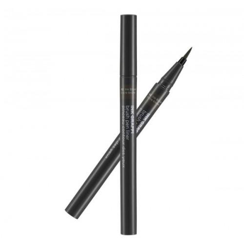 Bút lông kẻ mắt Ink Graffi Brush Pen Liner- Thefaceshop