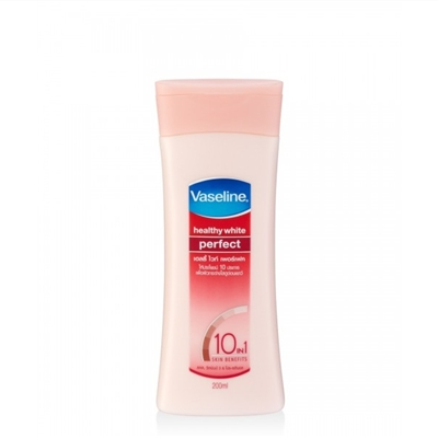 Sữa dưỡng thể trắng da Vaseline Healthy White Perfect 10