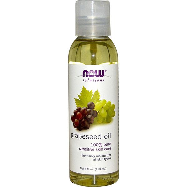 Tinh dầu hạt nho Now Grapeseed Oil Pure Sensitive Skin Care
