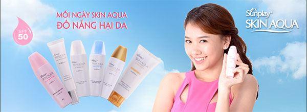 Các sản phẩm chống nắng Sunplay Skin Aqua của Sunplay