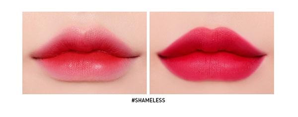 Son kem 3CE Smoothing Lip Tint ShameLess 4g - Màu Đỏ Lạnh - Mỹ phẩm ĐẸP XINH